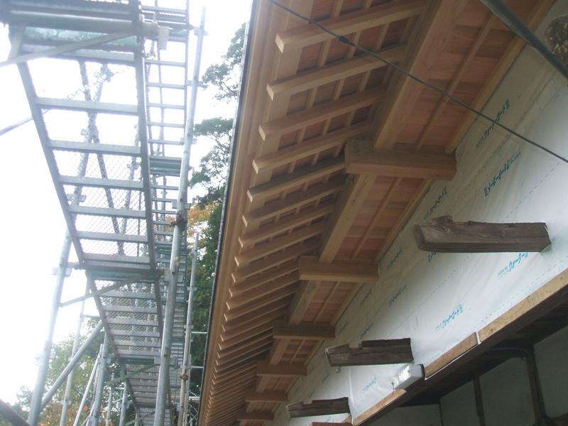 東金市 古民家屋根替え工事