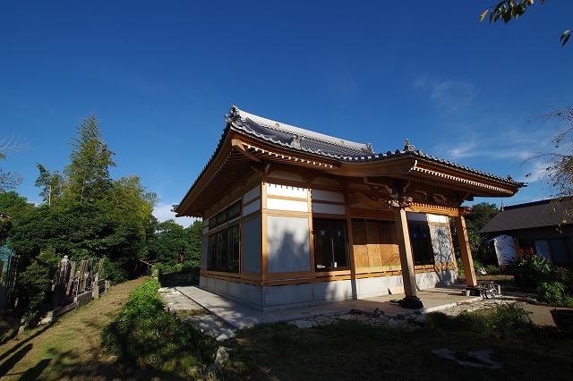 長生村 H寺 新築工事